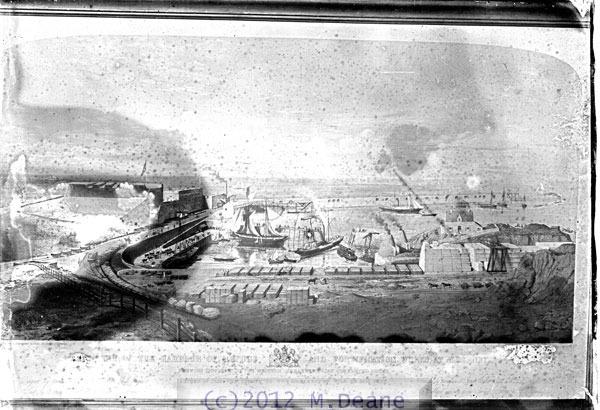 Harbour Fortification Works Alderney 1852