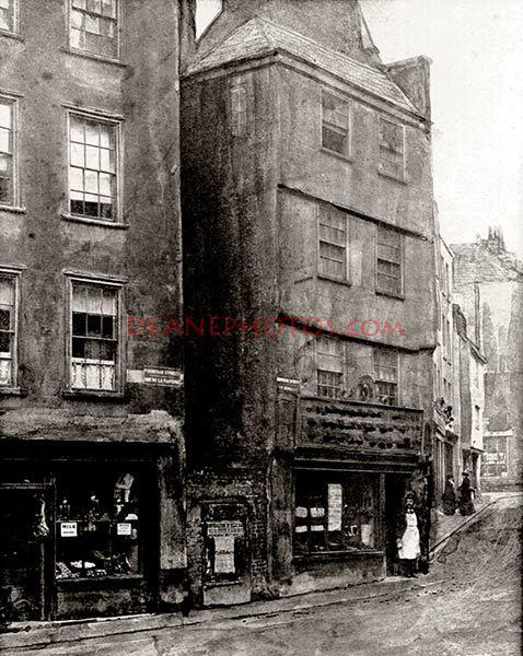 The Old Bordage circa 1900