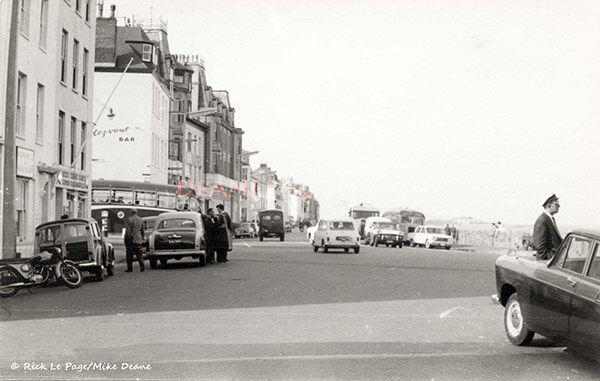 Bottom of St Julian's Avenue St Peter Port15th May 1962