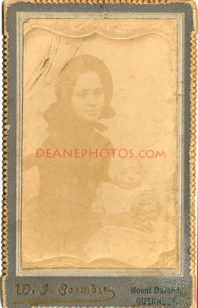 Copy image of a woman and child