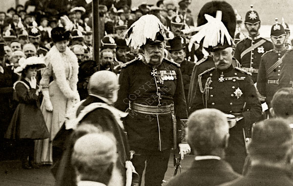 A Close Up shot of the Duke of Connaught