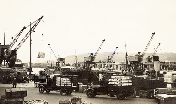 Exporting Produce in the 1930's