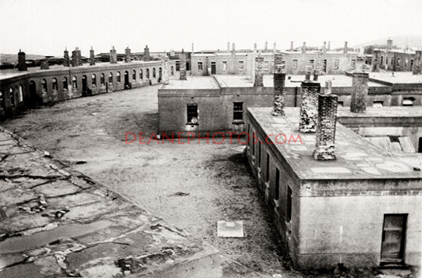 Fort Albert Pre 1955 -- Before building demolition