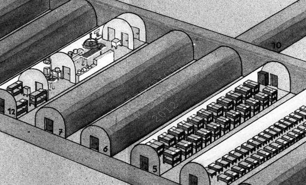 German Tunnel Enlargement