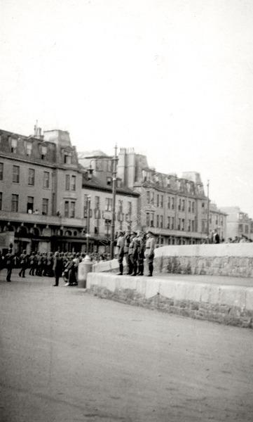 Germans outside Royal Hotel
