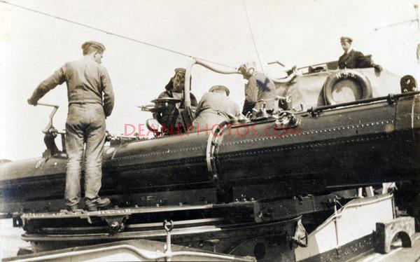 HMS Mischief Torpedo Equipment