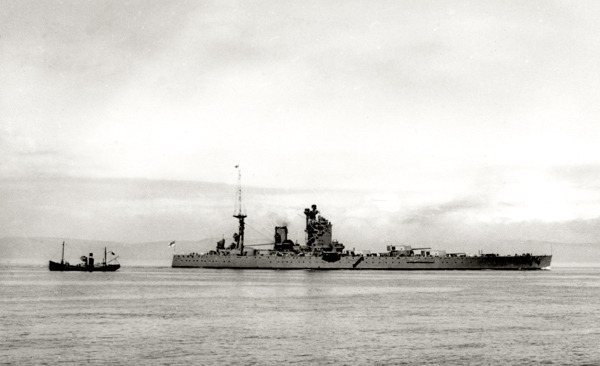 HMS Russel in Guernsey Waters 1905