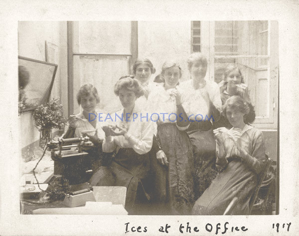 Ices at the Office 1917