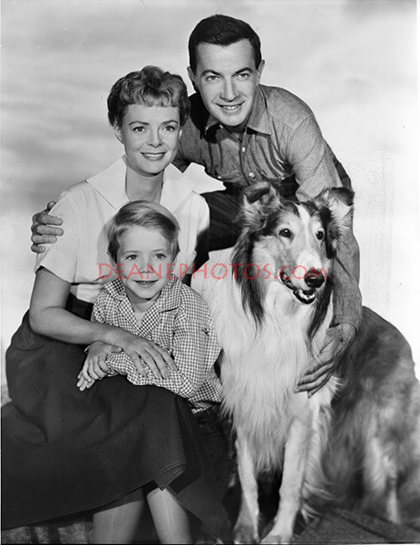 June Lockart & Lassie-1955
