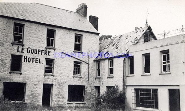 Le Gouffre Hotel in 1952