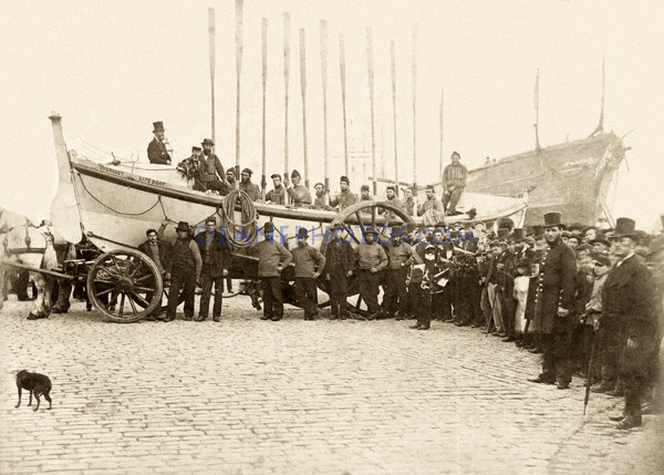 'The John Lockett Guernsey' Lifeboat