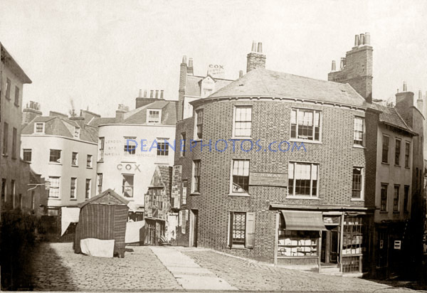 Market Steps Area 1870's
