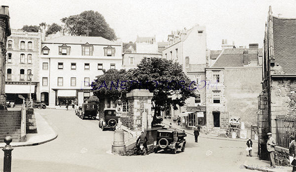 Market Place St Peter Port 1930