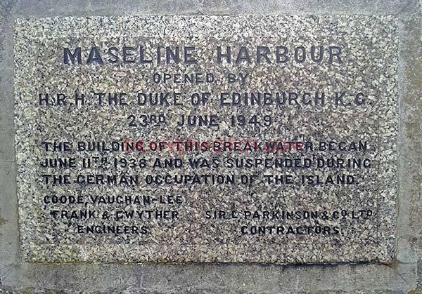 Maseline Harbour Stone inscription