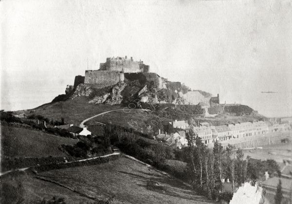 Mont Orgueil Castle Jersey 1869