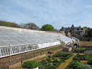 Modern day image of the walled kitchen garden