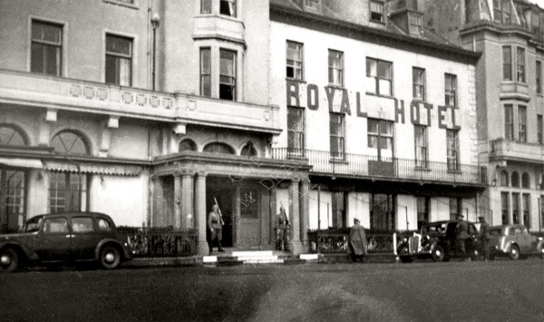 Royal Hotel Being Guarded