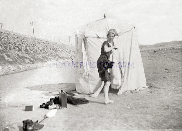 St Helier Bathing Scene No 5