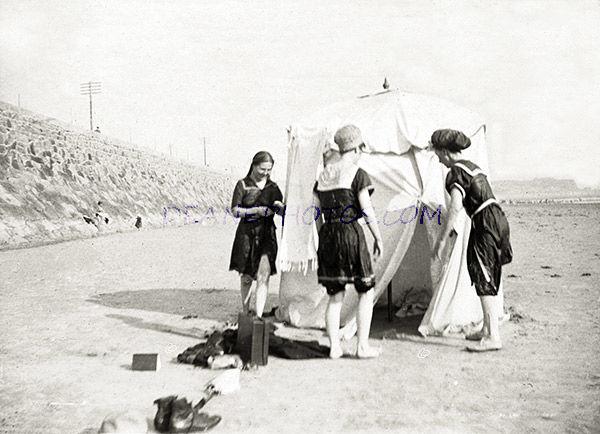 St Helier Bathing Scene No 6