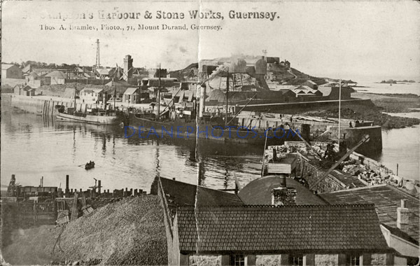 St Sampson's Harbour & Stone Works Guernsey