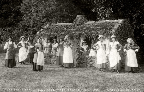 The Irish Stall Saumarez Park Bazaar July 1907