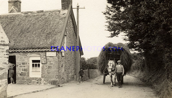The Sark Post Office in the 1930's