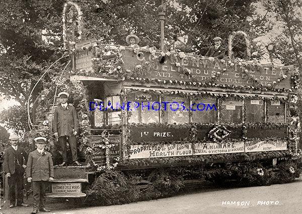 A Decorated Tram