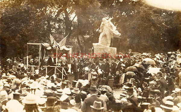 Unveiling of Victor Hugo's Statue