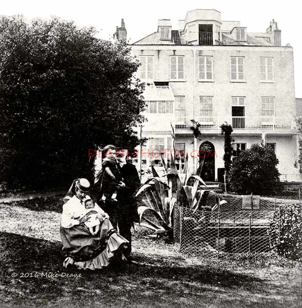 Victor Hugo with Grand-Children at Hauteville House