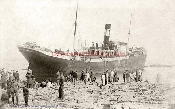 The Wreck of the SS FELIX DE ABASOLO Alderney