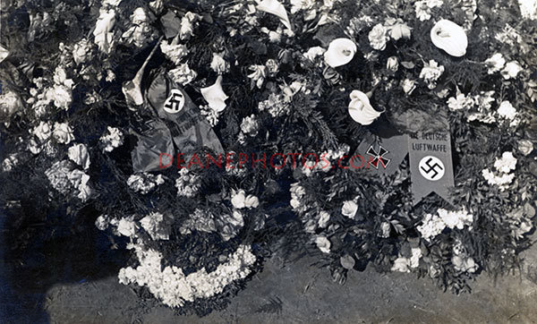 Flowers from Luftwaffe