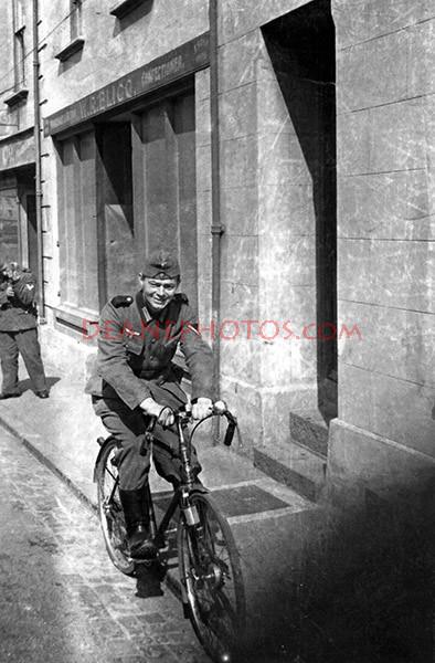 German Soldier in St Sampsons