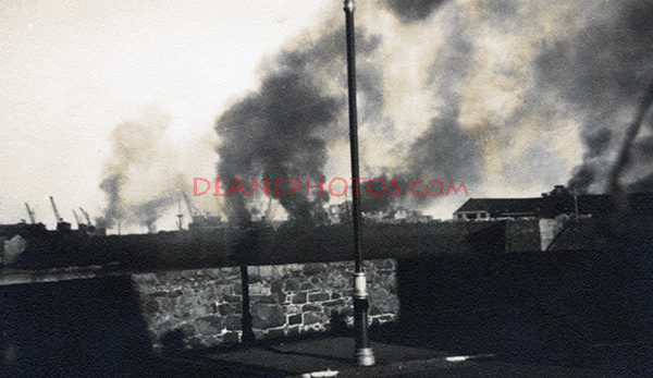 German Air raid On Guernsey - another sequence image