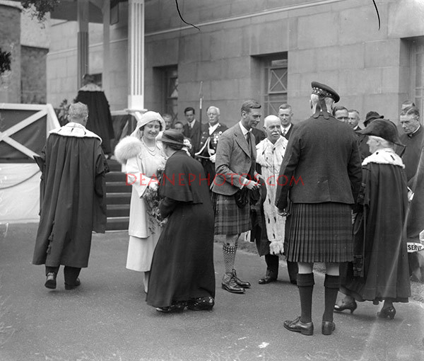 Duke of York opens Perth Art Gallery Aug 1935