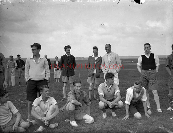 img307 Duke of York in Camp at Southwold 5th Aucust 1936