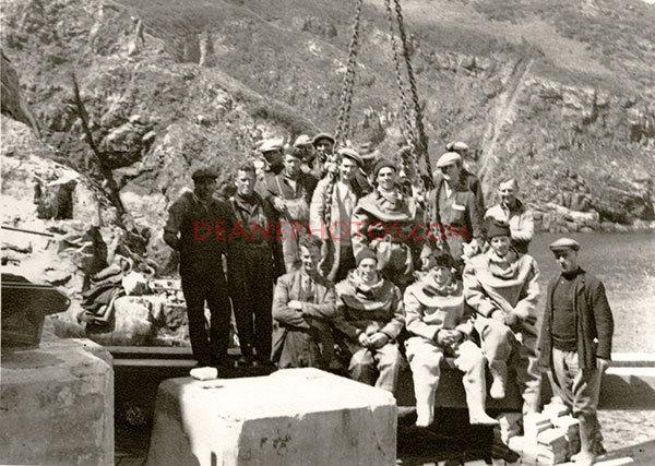 Maseline Harbour Build Crew April 1940