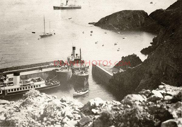 Summer 1939 Creux Harbour