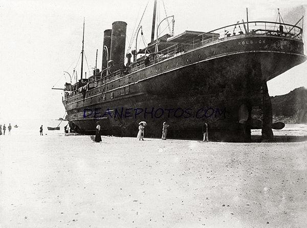 SS Roebuck in St Brelade's Bay