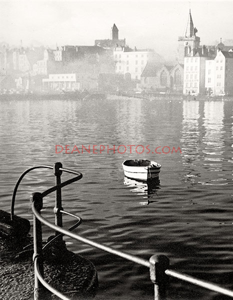 The Harbour on a Calm Day 1950's