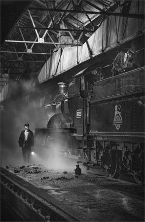 Didcot locomotive shed - alan simpson LRPS