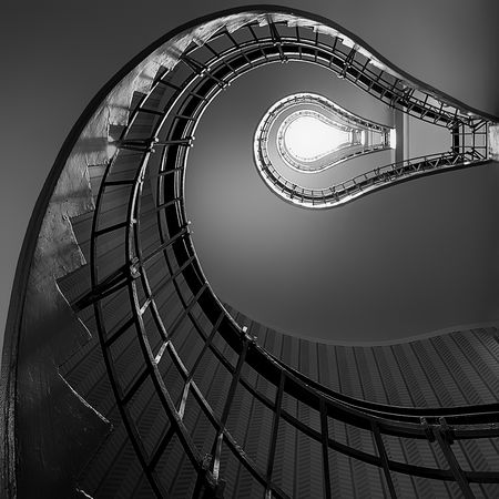 Prague staircase - Chris Saunders