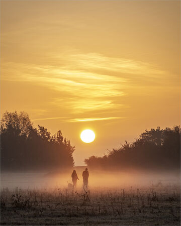 Strolling into the Sunset - Alan Simpson