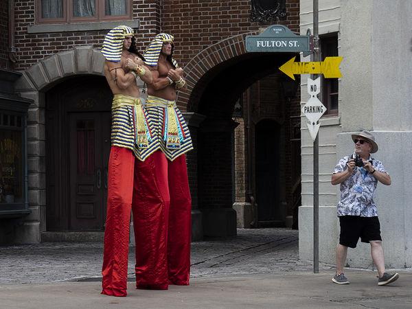 The Pharaos and the Photographer - Arnie Gobel