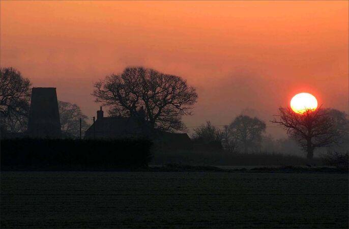 Winter Sunrise - Alan Taylor