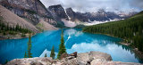 Moraine Lake, Canadian Rockies.