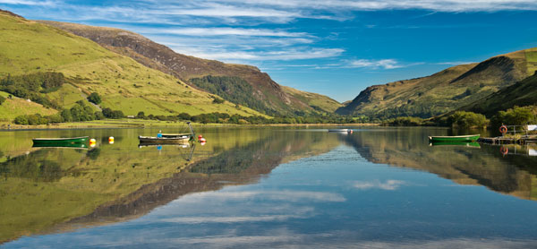Tal Y Llyn reflections