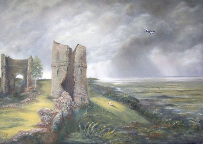 Hadleigh Castle (after Constable)
