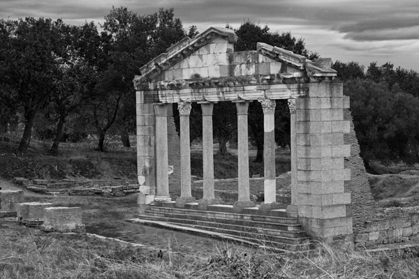 Temple at Apollonia