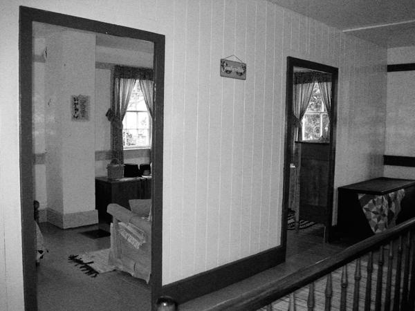 Upstairs Room, Amish Home