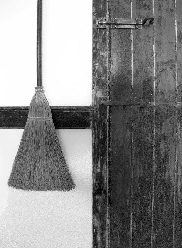 Broom and Door